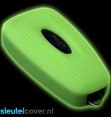 Ford SleutelCover - Glow in the dark / Silicone sleutelhoesje / beschermhoesje autosleutel