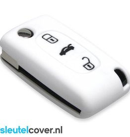 Peugeot SleutelCover - Wit