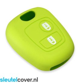 Peugeot SleutelCover - Lime