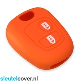 Toyota SleutelCover - Oranje / Silicone sleutelhoesje / beschermhoesje autosleutel