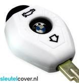 BMW SleutelCover - Wit / Silicone sleutelhoesje / beschermhoesje autosleutel