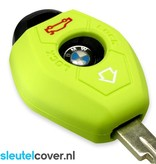 BMW SleutelCover - Lime groen / Silicone sleutelhoesje / beschermhoesje autosleutel