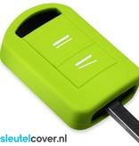 Opel SleutelCover - Lime groen / Silicone sleutelhoesje / beschermhoesje autosleutel