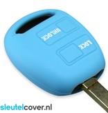 Lexus SleutelCover - Lichtblauw / Silicone sleutelhoesje / beschermhoesje autosleutel