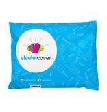 Mini SleutelCover - Fluor Roze / Silicone sleutelhoesje / beschermhoesje autosleutel