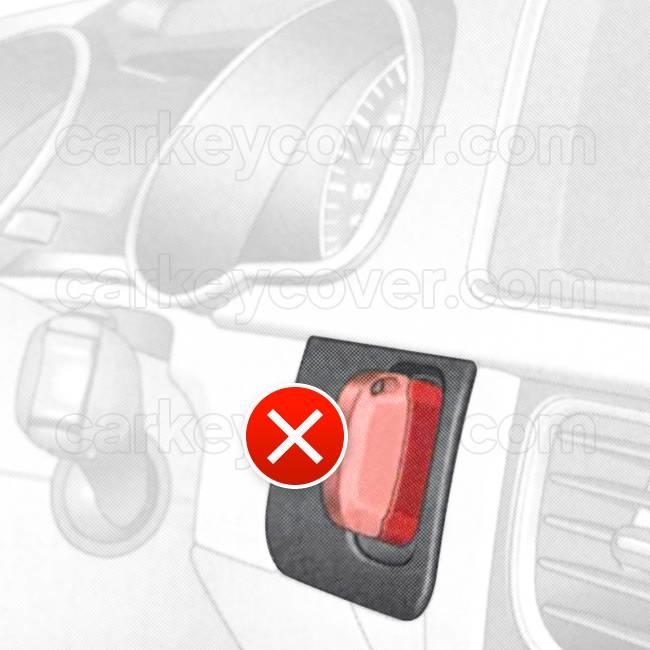Audi SleutelCover - Wit / Silicone sleutelhoesje / beschermhoesje autosleutel
