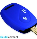 Honda SleutelCover - Blauw / Silicone sleutelhoesje / beschermhoesje autosleutel