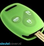 Honda SleutelCover - Glow in the dark / Silicone sleutelhoesje / beschermhoesje autosleutel