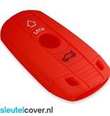 BMW SleutelCover - Rood / Silicone sleutelhoesje / beschermhoesje autosleutel