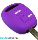 Lexus SleutelCover - Paars / Silicone sleutelhoesje / beschermhoesje autosleutel
