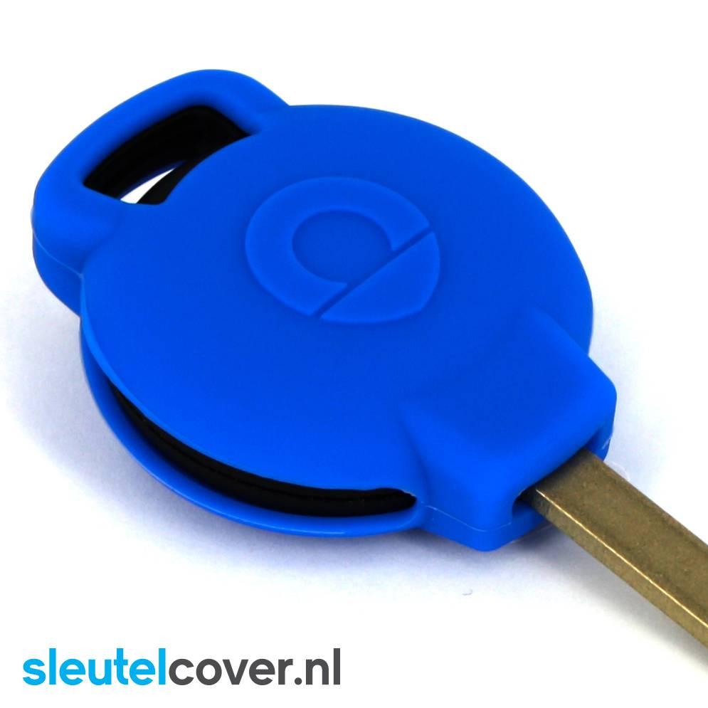 Smart SleutelCover - Blauw / Silicone sleutelhoesje / beschermhoesje autosleutel