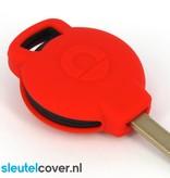 Smart SleutelCover - Rood / Silicone sleutelhoesje / beschermhoesje autosleutel