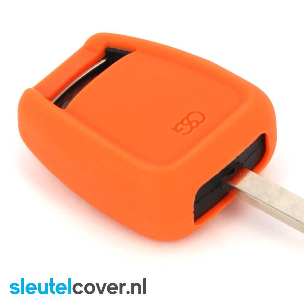 Opel SleutelCover - Oranje / Silicone sleutelhoesje / beschermhoesje autosleutel