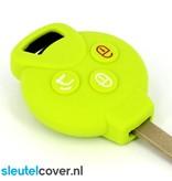 Smart SleutelCover - Lime groen / Silicone sleutelhoesje / beschermhoesje autosleutel
