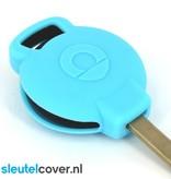 Smart SleutelCover - Lichtblauw / Silicone sleutelhoesje / beschermhoesje autosleutel