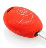 Mini SleutelCover - Rood / Silicone sleutelhoesje / beschermhoesje autosleutel
