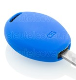 Mini SleutelCover - Blauw / Silicone sleutelhoesje / beschermhoesje autosleutel