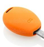 Mini SleutelCover - Oranje / Silicone sleutelhoesje / beschermhoesje autosleutel
