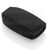 Volvo SleutelCover - Zwart / Silicone sleutelhoesje / beschermhoesje autosleutel