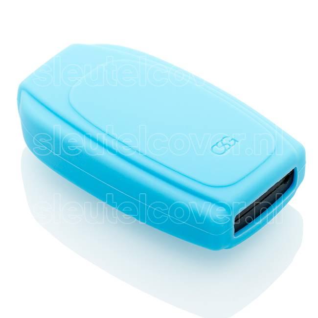 Volvo SleutelCover - Lichtblauw / Silicone sleutelhoesje / beschermhoesje autosleutel