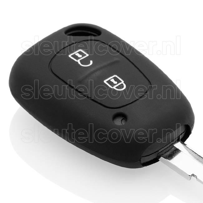 Nissan SleutelCover - Zwart / Silicone sleutelhoesje / beschermhoesje autosleutel