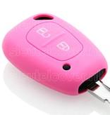 Opel SleutelCover - Roze / Silicone sleutelhoesje / beschermhoesje autosleutel