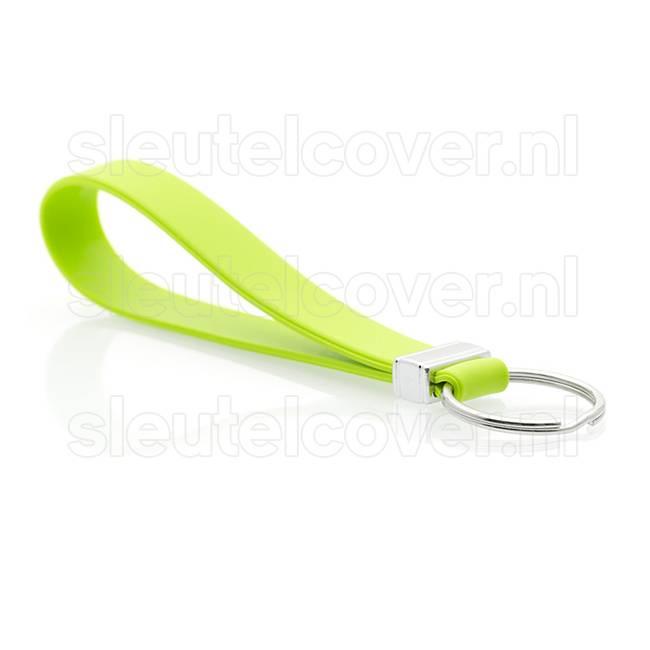 Sleutelhanger auto - Silicone - Lime groen