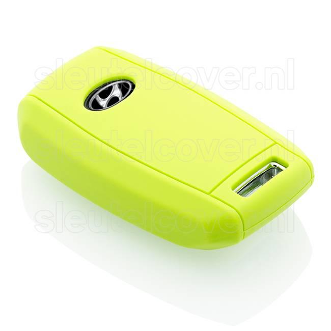 Hyundai SleutelCover - Lime groen / Silicone sleutelhoesje / beschermhoesje autosleutel