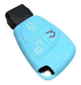 Mercedes SleutelCover - Lichtblauw