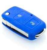 Seat SleutelCover - Blauw / Silicone sleutelhoesje / beschermhoesje autosleutel