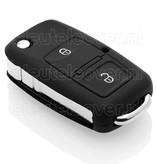 Audi SleutelCover - Zwart / Silicone sleutelhoesje / beschermhoesje autosleutel
