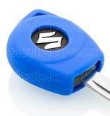 Suzuki SleutelCover - Blauw / Silicone sleutelhoesje / beschermhoesje autosleutel