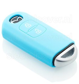 Mazda SleutelCover - Lichtblauw