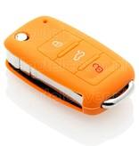 Audi SleutelCover - Oranje / Silicone sleutelhoesje / beschermhoesje autosleutel