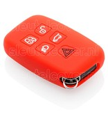 Land Rover SleutelCover - Rood / Silicone sleutelhoesje / beschermhoesje autosleutel
