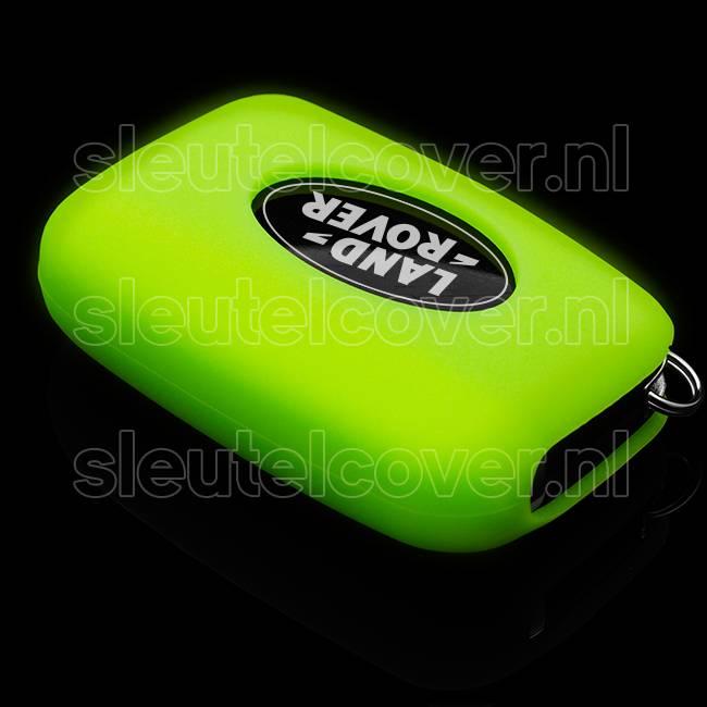 Land Rover SleutelCover - Glow in the dark / Silicone sleutelhoesje / beschermhoesje autosleutel