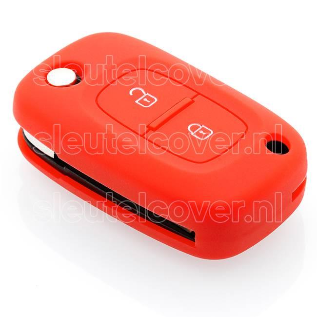 Mercedes SleutelCover - Rood / Silicone sleutelhoesje / beschermhoesje autosleutel