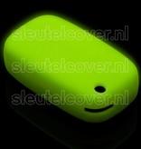 Mercedes SleutelCover - Glow in the dark / Silicone sleutelhoesje / beschermhoesje autosleutel