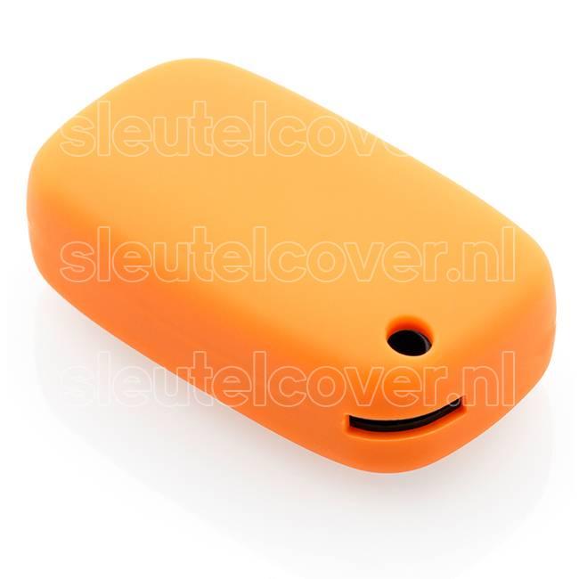 Mercedes SleutelCover - Oranje / Silicone sleutelhoesje / beschermhoesje autosleutel