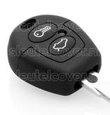 Ford SleutelCover - Zwart / Silicone sleutelhoesje / beschermhoesje autosleutel