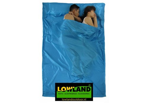 Lowland Outdoor Sábana saco - Superlight - 2 pers - 220x160 cm - 600gr