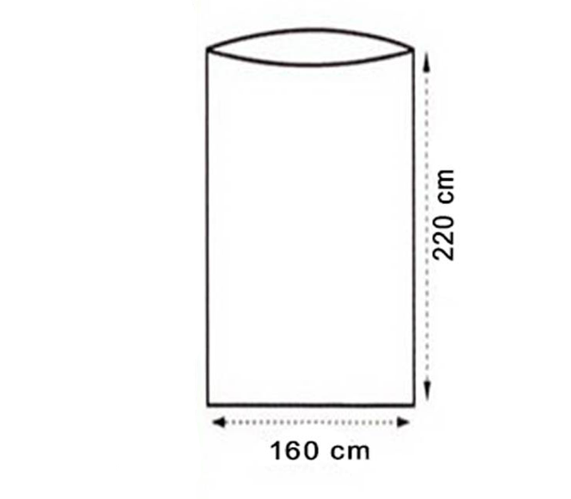 LOWLAND OUTDOOR® Lakenzak - Superlight - 2 pers - 220x160 cm - 600gr