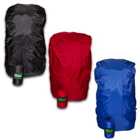 LOWLAND OUTDOOR® Raincover Flightbag - Waterdicht PU-Oxford Nylon <85 Liter - 304gr