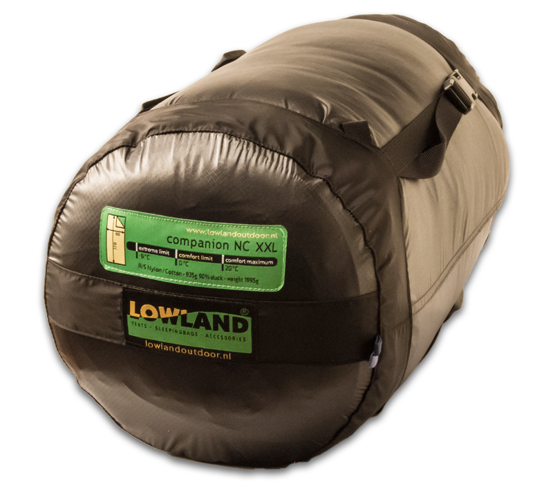 LOWLAND OUTDOOR® Companion NC - Extra Breed - 1995g - 220x100cm - 0°C