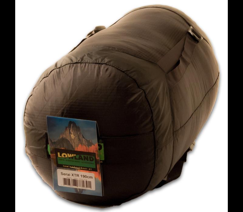 LOWLAND OUTDOOR® Serai XTR - 925 gr - 190x75 cm -10°C