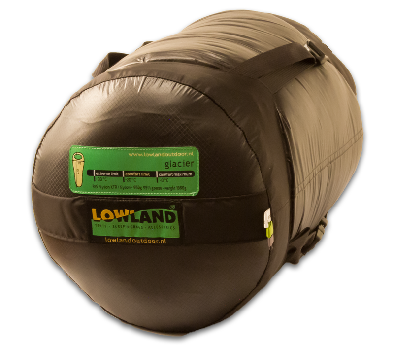 LOWLAND OUTDOOR® Glacier Expedition - 1690 gr - 230x80 cm -20°C