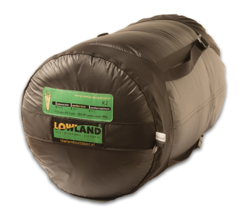 LOWLAND OUTDOOR® K2 Expedition - 1995 gr - 225x80 cm -35°C