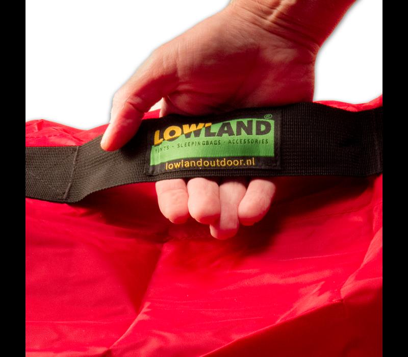 LOWLAND OUTDOOR® Regen- und Transporthülle für Rucksäcke  - Wasserabweisend  <85L - 304g
