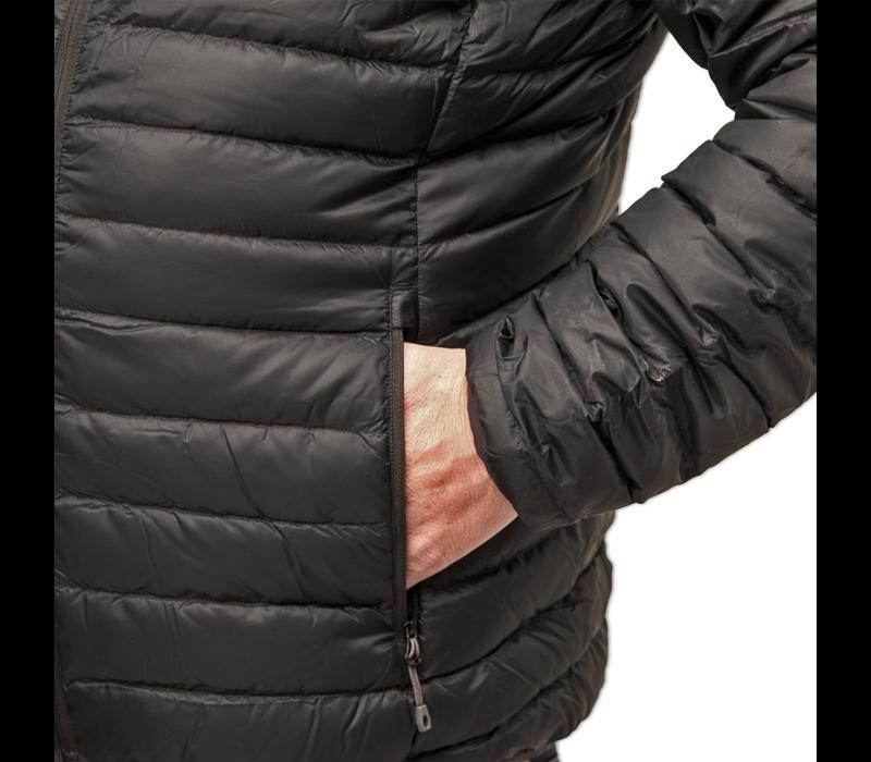LOWLAND OUTDOOR® OPTIMUM Donzen bodywarmer - Black