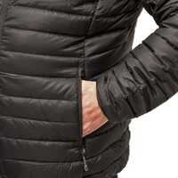 LOWLAND OUTDOOR®  OPTIMUM Down jacket - Men - Black
